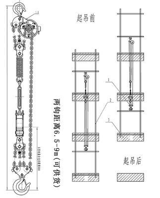 鏈條升降電動葫蘆群吊環鏈葫蘆7.5T10T20T30噸DHP環鏈起重