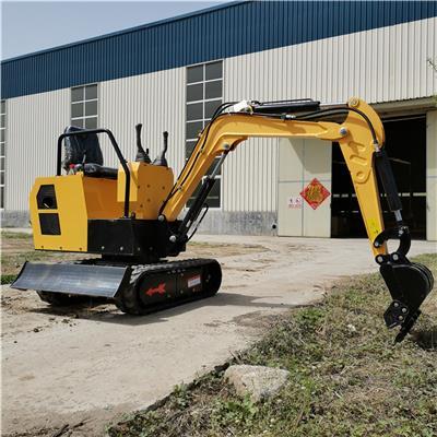 多功能小型挖掘機 10型果園小勾機 農用微型挖掘機廠家報價