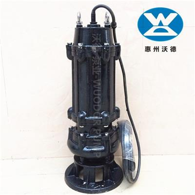 65XWQ35-15-3糞坑污水泵切割排污泵咨詢