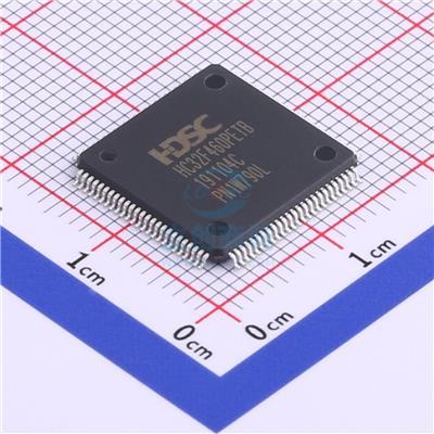 華大M4內核MCU, HC32F460PCTB-LQFP100