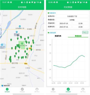 智易時代揚塵監控app系統介紹