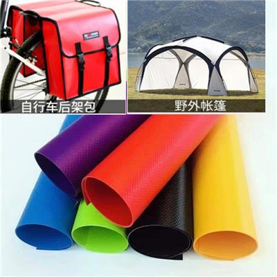 玄宇供应500D/18*17高强PVC*布料 夹网布 箱包面料