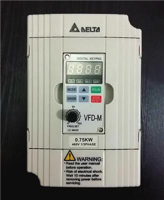 臺灣臺達DELTA變頻器VFD055M43A-T
