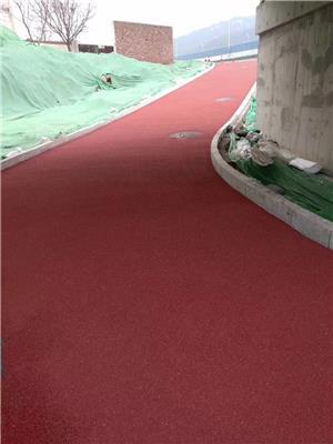 彩色路面噴涂瀝青改色噴涂彩色瀝青修復顏色翻新