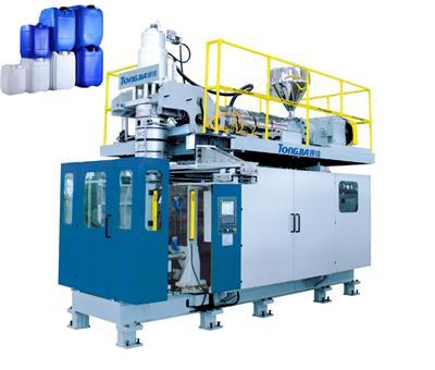 生產5至10升塑料桶中空吹塑成型機