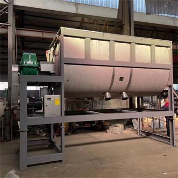 臥式金屬粉末混料機不銹鋼均勻攪拌機螺帶混料機