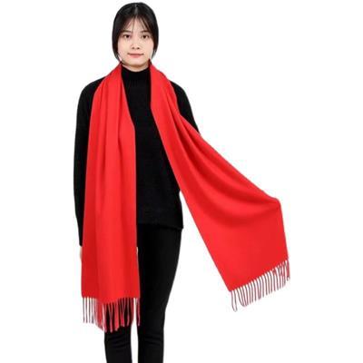 開業慶典紅圍巾定做 紅圍巾訂做 湖北團建紅圍巾定做紅圍巾定制繡字