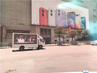 重慶LED廣告車出租,車載15千瓦柴油發電機,220V電壓供電