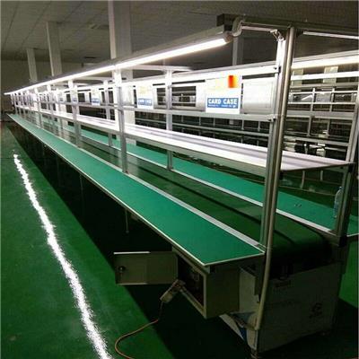 廠家供應電子輸送線 工業生產皮帶流水線 自動化生產線設備