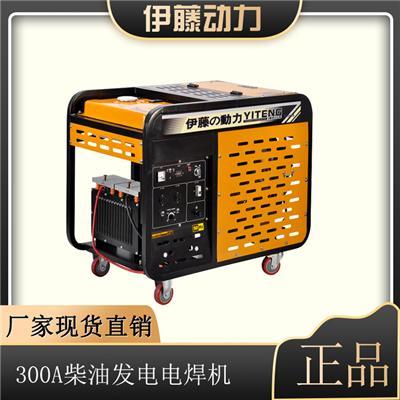 手抬便攜式300A柴油發電電焊機