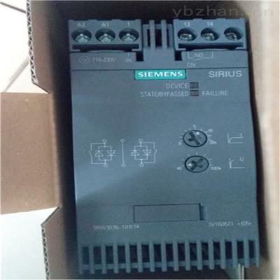西門子軟啟動器3RW4424-1BC46