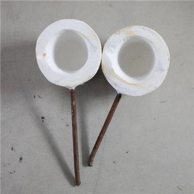 鋼水取樣勺 大容量鐵水液體取樣勺 舀鐵水勺子