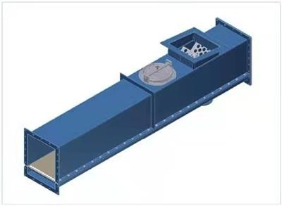 沅奉供應空氣輸送斜槽粉料輸送斜槽風送槽空氣槽