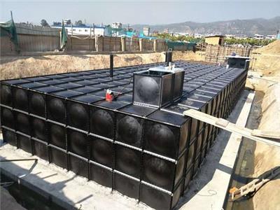 金華地埋式消防泵站 施工方便