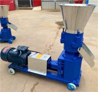 樂山家用顆粒機小型家用飼料顆粒機雞鴨牛羊制粒機家用220V造粒機