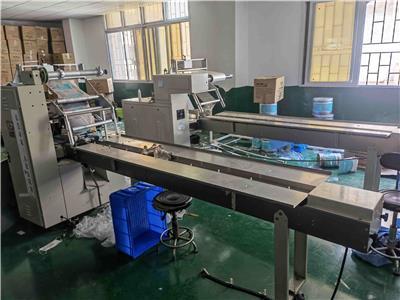 東莞轉讓9成新歐立型號SZ-二手包裝機 整廠回收 機械回收 設備回收 廢金屬回收