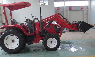 濰坊雙偉制造拖拉機用TZ-8型號 前裝載機
