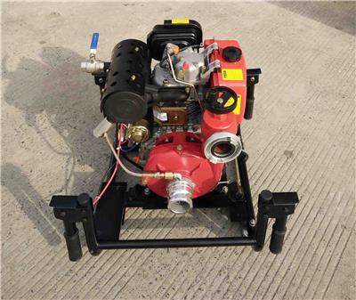 南昌2.5寸消防用真空泵移動式 便攜手抬式