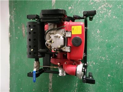 太原2.5寸排水消防用真空泵報價 小型便攜