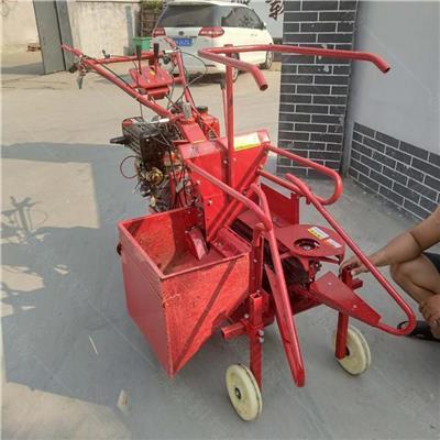 玉米秸稈青儲收割機 玉米自動扒皮一體機 農業小型玉米收割機