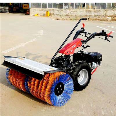 山東信立泰掃雪機1.1M 手推式掃雪機物業環衛市政掃雪車工廠學校廣場道路清雪車