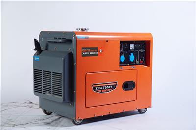 采購7KW靜音柴油發電機尺寸