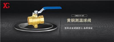 西安高壓閥門廠每日**產品:黃銅測溫球閥