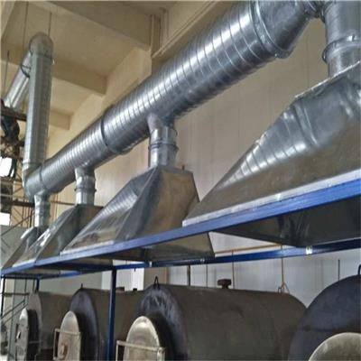 東莞市塘廈排煙通風排氣管道工程安裝