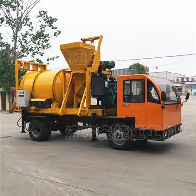 安捷車載式瀝青拌和機 1.5方混合料瀝青攪拌車