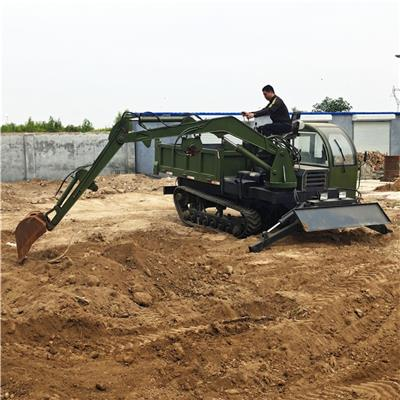 安捷全地形AJ-LW履帶隨車挖