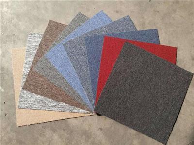 工厂**办公室地毯拼接满铺方块地毯商用纯色条纹地毯酒店工程毯
