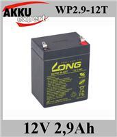 LONG蓄电池WP2.9-12/12v2.9ah 音箱 LED灯 进口仪器电池