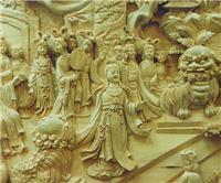 界首仿古木雕制作