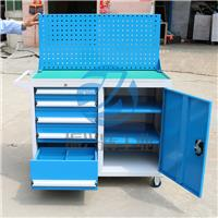 深圳汽修工具柜厂家 5抽1门挂板工具车定做