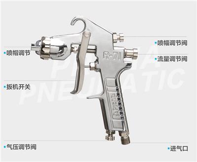 正品保障星牌喷枪S-770汽修家具厂定制高雾化喷漆枪