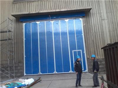 漳州折叠门 钢质折叠大门