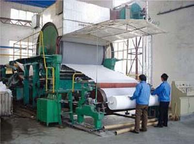 High performance waste paper recycle machine to make toilet tissue paper