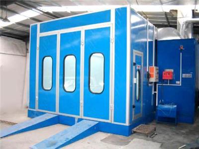 浙江汽保设备-全压式烤漆房,专业汽车、家具烤漆-中博环保专业生产