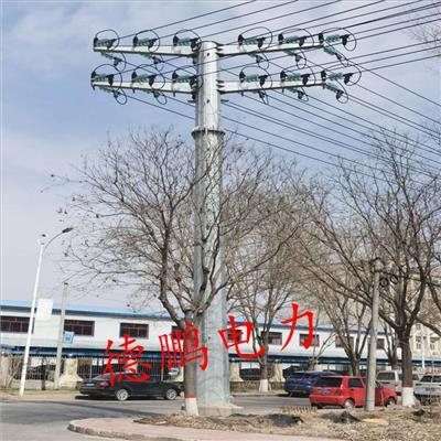 贵港电力钢管杆报价 110kv电力钢管杆