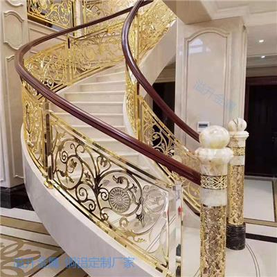 西宁别墅楼梯护栏