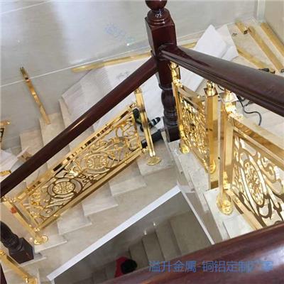 阿坝大气铜楼梯护栏