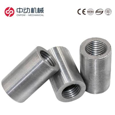 钢筋套筒钢筋接头直螺纹套筒钢筋连接套筒厂家紧固件厂家