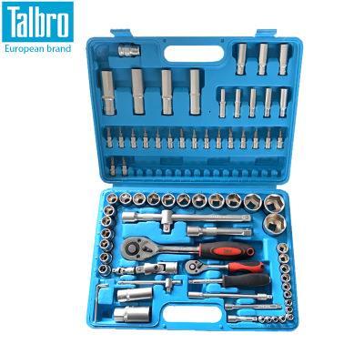 Talbro 1/2&1/4 94 件多功能套筒组套