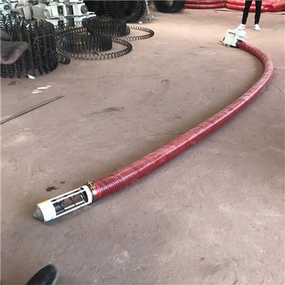 绞龙式软管输送机 粉料颗粒螺旋式吸料机